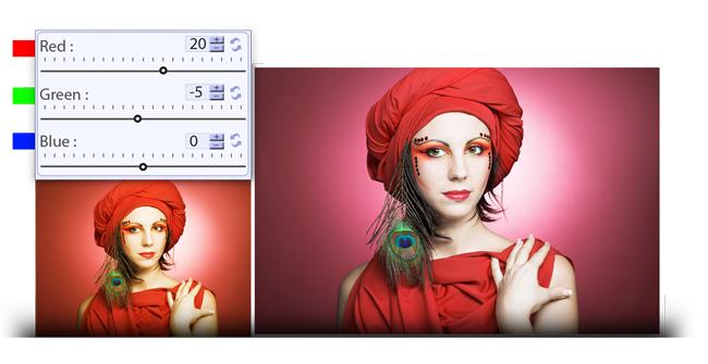 RGB Color Correction