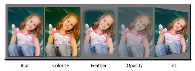 Basic Effects on Photos